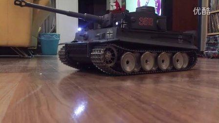 恒龙虎式坦克全金属版试车