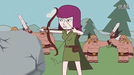 部落冲突-执着的弓箭手