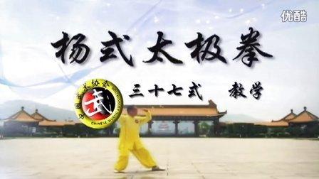 赵幼斌三十七式杨式太极拳分解教学