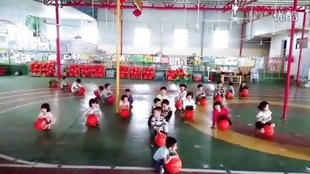 幼儿园球操舞蹈