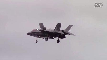 美国海军F-35B飞行表演