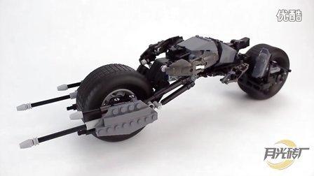 【月光砖厂】得高7115蝙蝠侠摩托车仿乐高5004590乐高速组评测