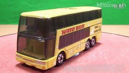 【天乐玩具城】TOMY TOMICA 合金车模 No.42 HATO BUS日野双层巴士 (初回特別版)