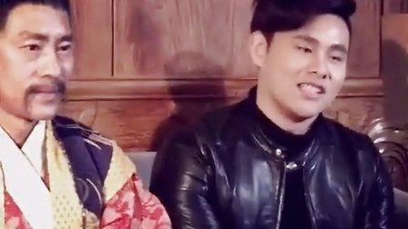 姚雨鑫主演电影《绝色逃跑妃之盗情》现场采访