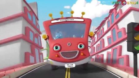 海豹Kid英文儿歌 巴士上的轮子 Wheels On The Bus