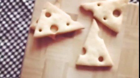 奶酪饼干 消耗多余奶油奶酪 烘焙教程 妞家烘焙