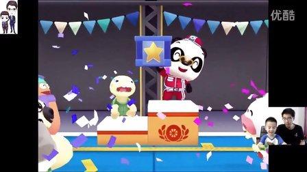 熊猫博士第22期★赛车手(5)★飞碟车、越野车和蛋糕车★驾驶玩具小汽车