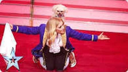 2016英国达人秀 半决赛第5场  美女与狗狗共舞 震撼全场