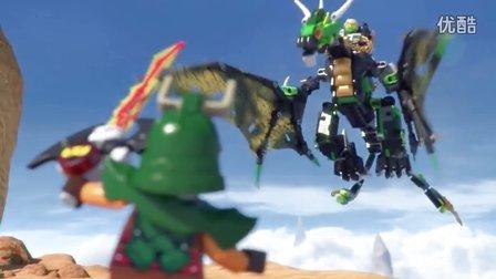 [乐高官方出品] 乐高忍者系列LEGO Ninjago 70593 Lloyd s Elemental Dragon