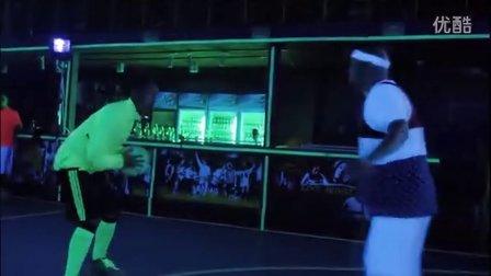 鲜活人生-夜光篮球·创意广告