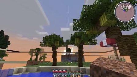 【灰哥】我的世界《天域群岛》11:椰子岛,妹子你好啊