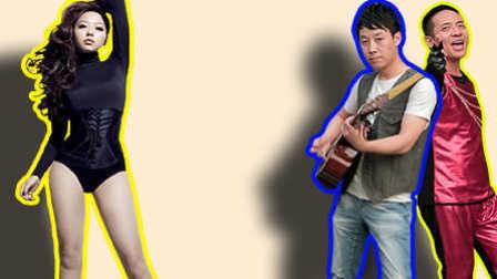 激情澎湃的张靓颖式演唱 疯狂吉他