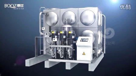 巨浪视觉-无负压3D动画-水处理动画-泵站动画