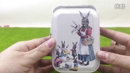 精美曲奇拆盒 零食分享 小兔子 首饰盒