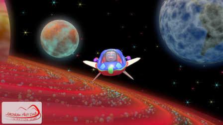 Baa Baa Black Sheep in Space-HD