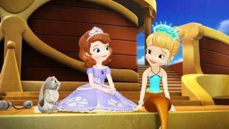 小公主苏菲亚★美人鱼女王水下游玩★