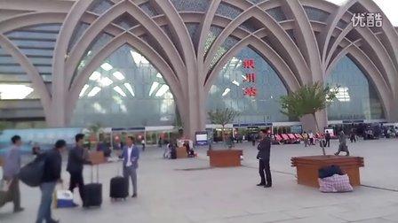 牛逼的银川鸟巢火车站