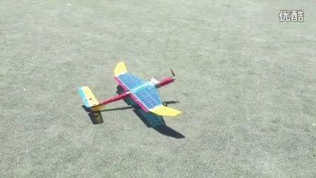 试飞-3级风降落