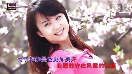 视频歌曲—精彩视频—纯美女与桃花盛开。新版17—KTV歌曲《在哪桃花盛开的地方》-超清