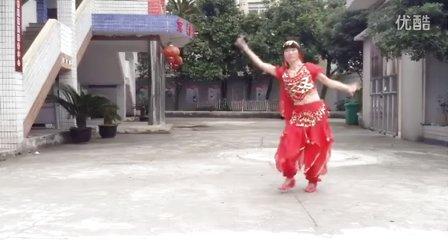 郭溪开心广场舞。阿秋。广场舞热辣媚娘原创刘荣广场舞。
