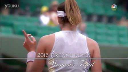 2016法国网球公开赛女单决赛 穆古鲁扎VS小威廉姆斯 (自制HL)