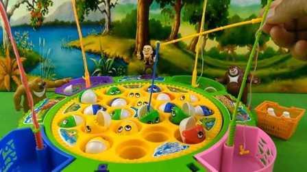 《玩具屋》熊出没钓鱼竞技