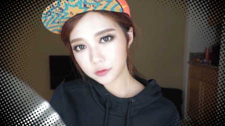 Gold Smoky Eye Makeup 街头风格小烟熏妆容 | RyiiiMakeup