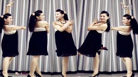 青青世界广场舞 陶醉中三《亲爱的我爱你》附背面 原创吉美