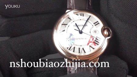手表之家 V6厂 经典CARTIER卡地亚蓝气球系列W6900651 玫瑰金男士机械腕表