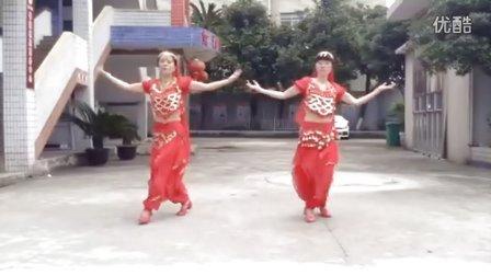 爱秋广场舞《热辣媚娘》习舞阿欧 阿秋 原创刘荣广场舞