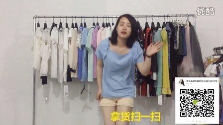 精品上衣小衫 时装款短裤短裙批发走份 600块一份--浩宇女装批发