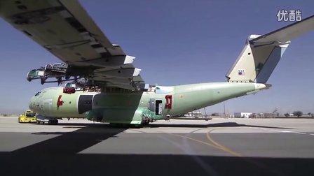 A400M军用运输机组装和试飞