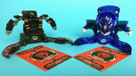 【魔力玩具学校】骸骨(骇谷)车神 拆箱试玩测评 威甲车神对决 自动变形玩具车机器人魔幻车神爆裂飞车机甲兽神