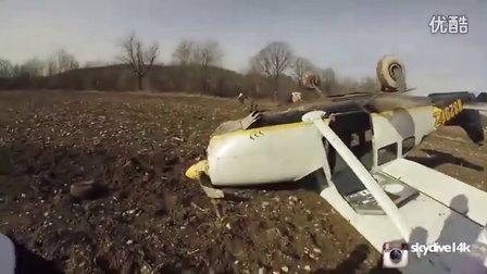 何以如此淡定?乘客自拍飞机坠毁全过程