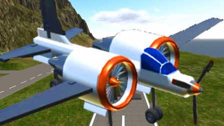 【屌德斯解说】 模拟造飞机 奇葩神风小战机在空中解体
