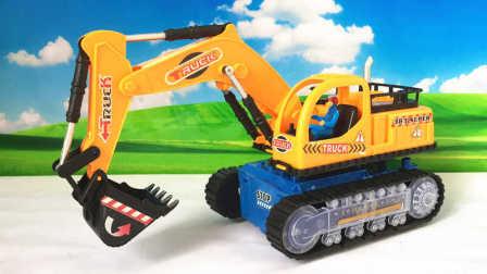 大雄的玩具世界 2016 面包超人的疯狂电动挖掘机 面包超人疯狂挖掘机
