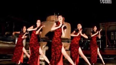 韩国女团性感旗袍扇子舞+性感MV热舞