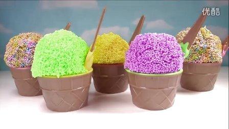 【创意玩具】雪花泥黏土胶藏着各种玩偶奇趣蛋