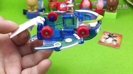 魔幻车神玩具 裂空飞鹰 粉红猪小妹中文版 超级飞侠 熊出没 大头儿子小头爸爸