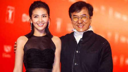 成龙四部电影普通人绝地逃亡功夫瑜伽铁道飞虎上海电影节开幕式红毯