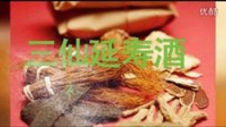 《三仙延寿酒》补益调养 中药泡酒  中药药酒 保健药酒 补肾 风湿 美容 关节炎 酒