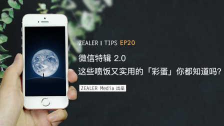 「ZEALER | Tips」微信特辑2.0 这些喷饭又实用的「彩蛋」你都知道吗?