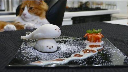 日本小哥教你做萌萌哒海豹草莓大福~绝对是夏日清凉小点心首选!