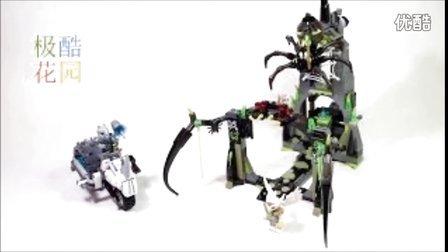 【极酷花园】乐高 气功传奇模型『黑寡妇的盘丝黑风洞  』制作过程(70133)【乐高创乐系列】