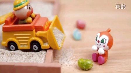 面包超人沙滩车玩具 小猪佩奇健达奇趣蛋惊喜蛋玩具蛋 粉红猪小妹超级神秘魔法蛋 熊出没之超级飞侠大头儿子小头爸爸亲子游戏