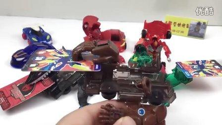 泰坦巨人 慢动作演示 魔幻车神 变形玩具 超级飞侠 熊出没 爆裂飞车 猎车兽魂