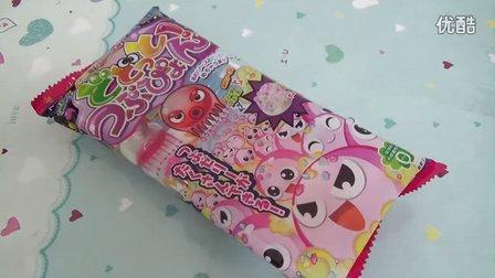 多米娘亲の食玩32  章鱼粒子糖 章鱼粒子棉花糖  日本食玩(可食)粉红猪小妹