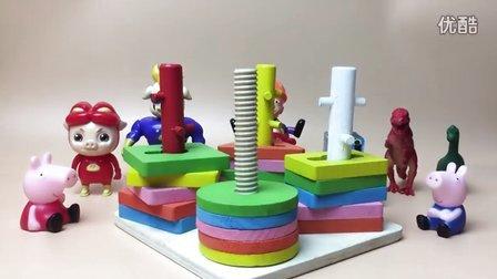 益智玩具 亲子游戏开箱神秘 244