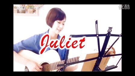 美女: 燕子姐姐:《彩虹》【朱丽叶吉他】指弹吉他独奏自学吉他弹唱教程教学入门自学古典吉他尤克里里视频