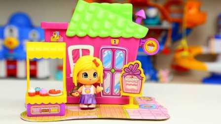 pinypon 粉嫩甜品屋 装扮玩具组 薄荷味冰淇淋